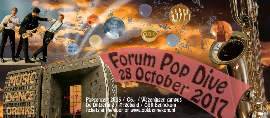 Popconcert: Forum Pop Dive