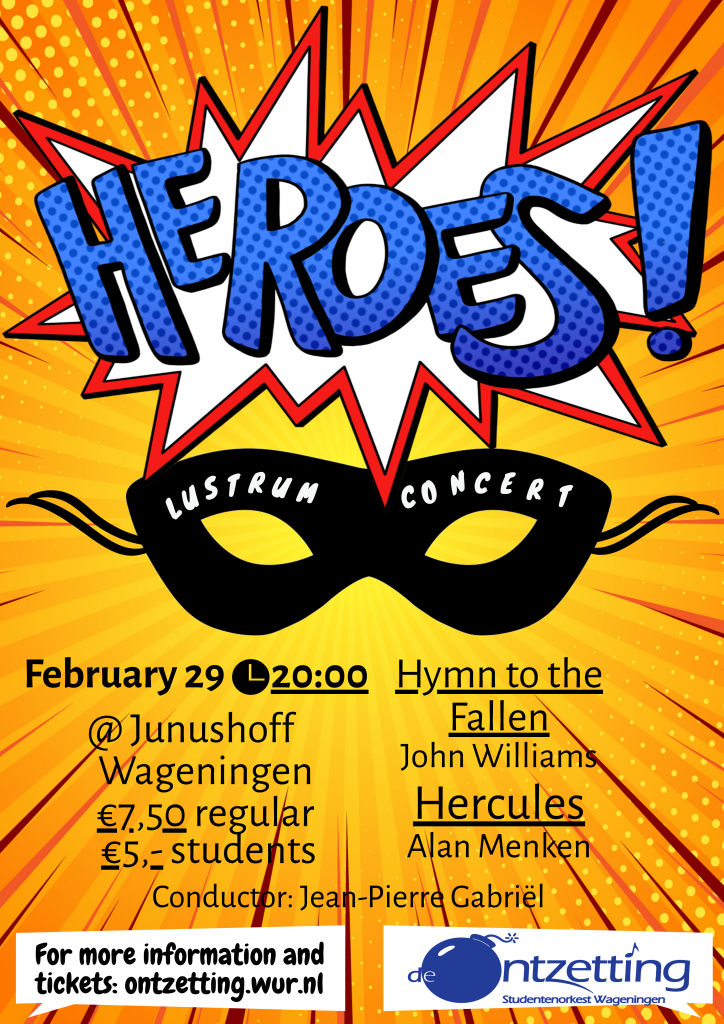 Lustrumconcert 'Heroes'