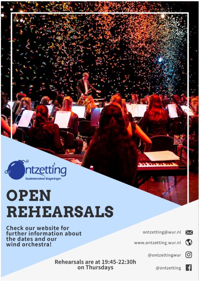 Open Rehearsals